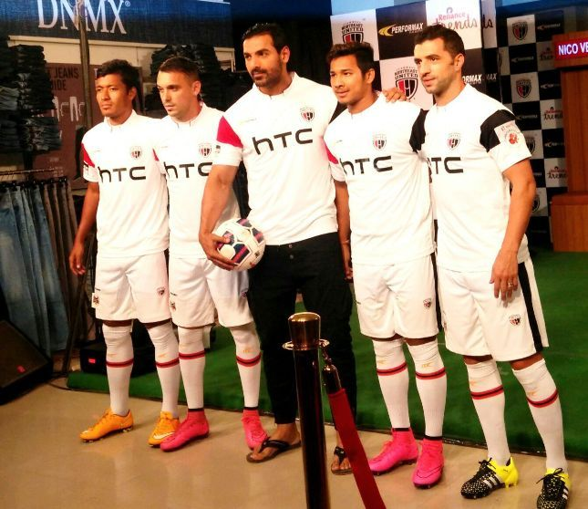 ISL 2015: Sportswear brand Performax powers John Abraham's Northeast United FC