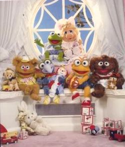 Muppet Babies in puppet form in 'The Muppets Take Manhattan'