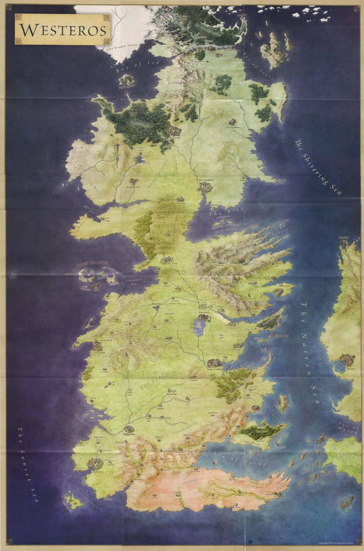 A Song Of Ice And Fire Maps