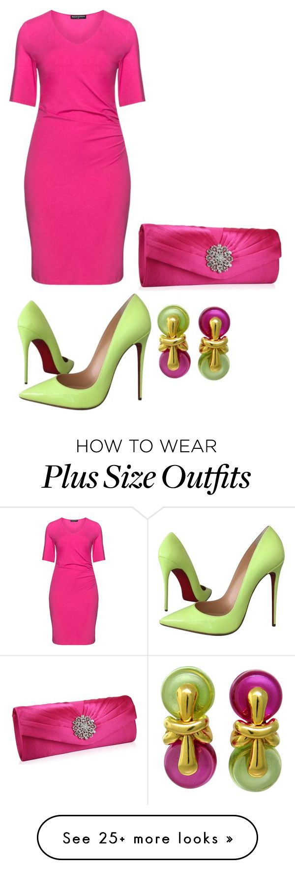 """Untitled #3391"" by bbossboo on Polyvore featuring moda, Christian Louboutin, Manon Baptiste, women's clothing, women's fashion, women, female, woman, misses e juniors"