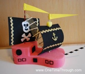 Pirate party crafts and activities