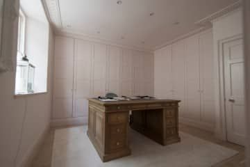 Georgian panelling for a study in the city of Bath >> https://www.bathbespoke.co.uk/furniture/