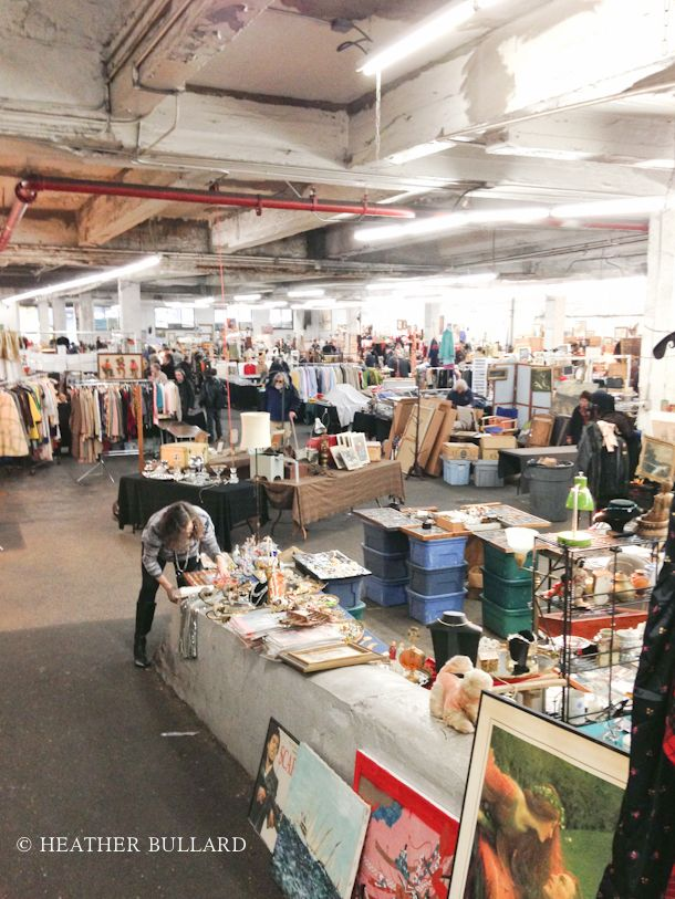 The Garage Antique & Flea Market NYC | Heather Bullard