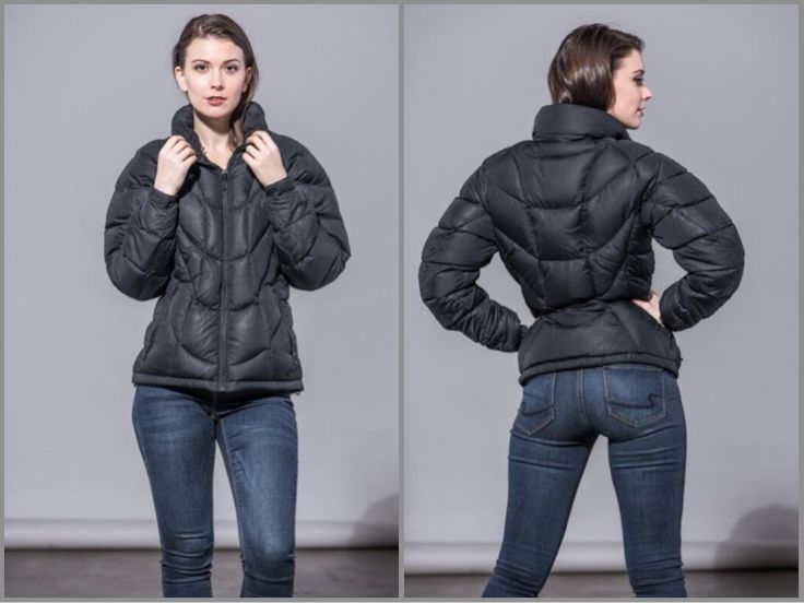 black ski jacket