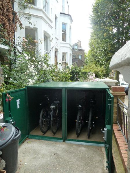 29 Best Images About Front Garden Bike Shed On Pinterest