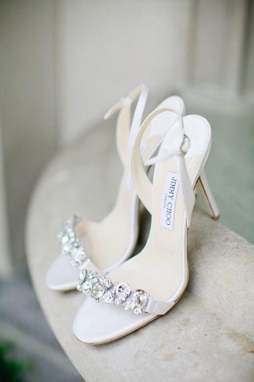 Jimmy Choo Wedding Sandals #Shoes #Heels