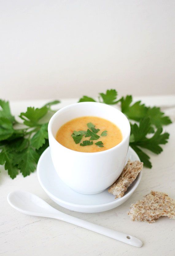 Drei leckere Suppen mit Möhren oder Sellerie - schnell gekocht & gesund