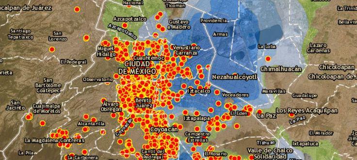 Mapa CDMX: radiografía de daños del #19S y las zonas sísmicas - Aristegui Noticias