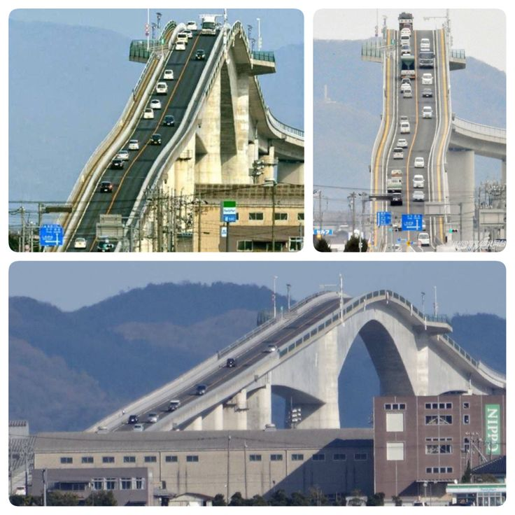 Ejima Bridge in Matsue, Japan