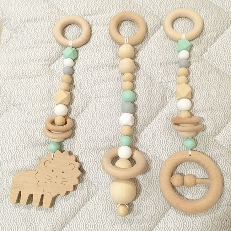 Image of Wild Baby Gym Toy Set of 3