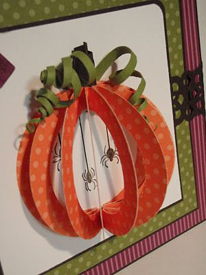 so clever to open up the punched pumpkin...