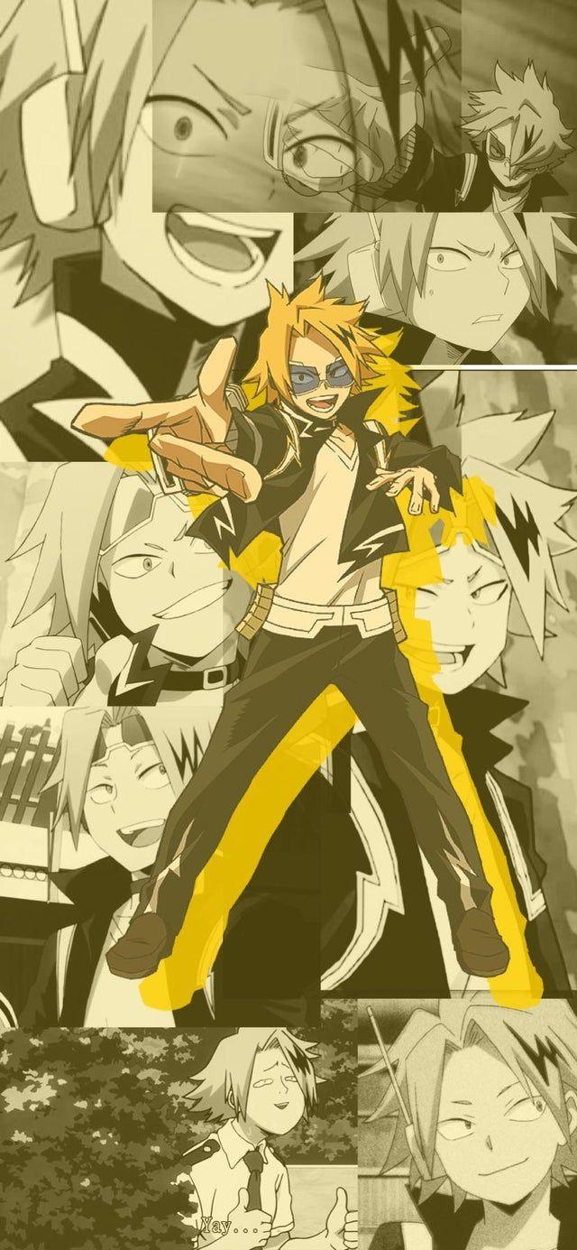 Denki Kaminari Wallpaper By Me Hope You Enjoy It Bokunoheroacademia Human Pikachu My Hero Academia Manga My Hero Academia