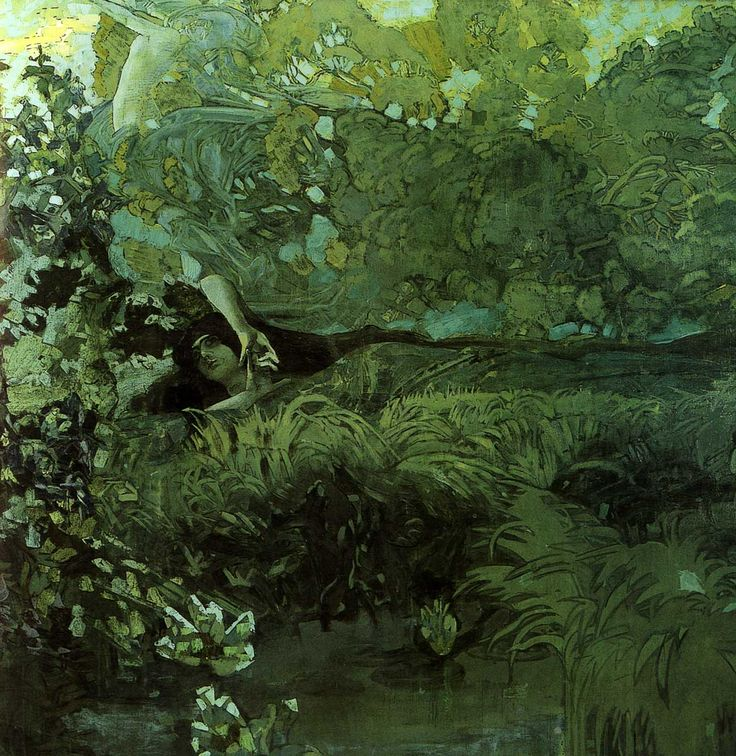 Morning by Mikhail Vrubel.