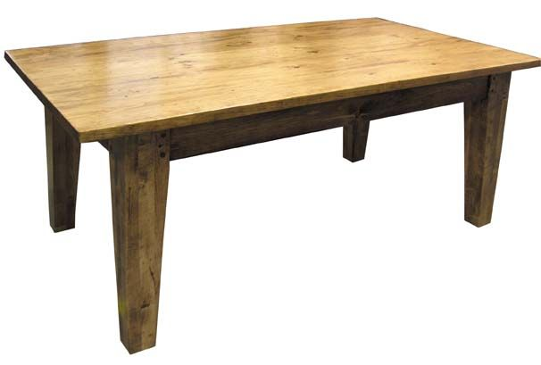 "farm tables for sale | 7FLX 84"" x 40"" harvest table; 2 - 16"" company boards; 4"" fluted leg ..."