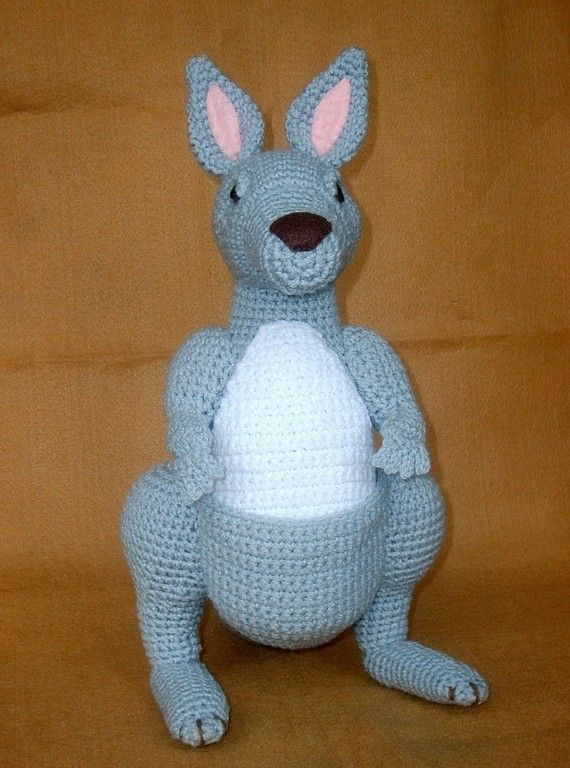 Crochet Kangaroo Pdf Pattern By Wolfdreameroth On Etsy 5