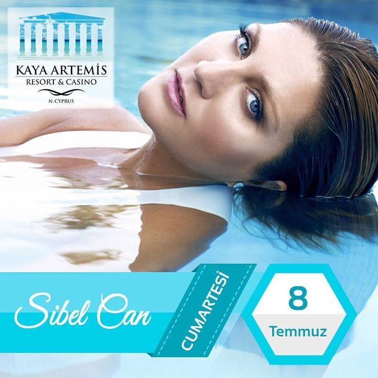 Sibel Can 8 Temmuz Cumartesi Kaya Artemis Resort & Casino /Kibris