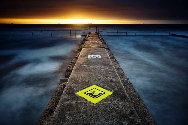 First Light by damien.lee, Austinmer pool, NSW, Australia