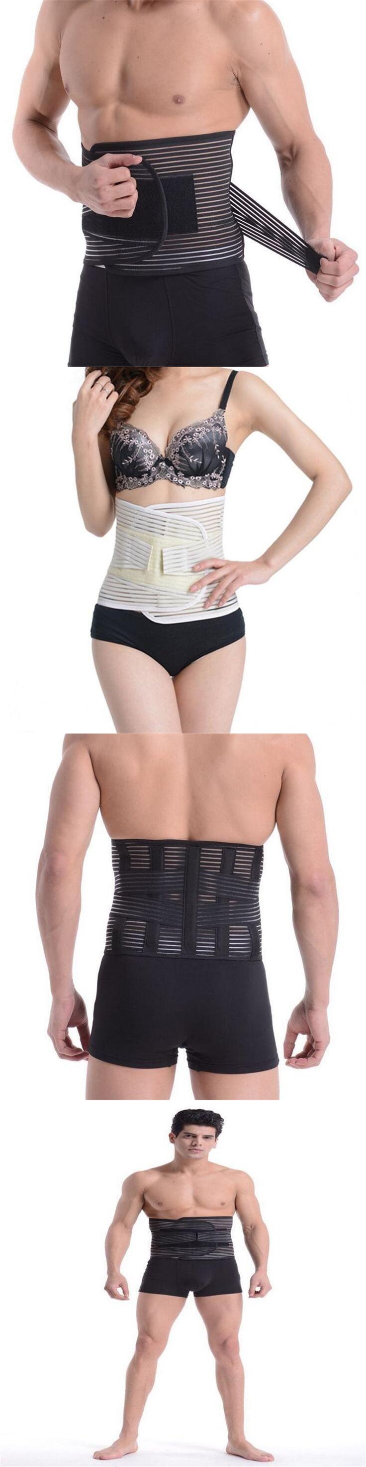Orthopedic Corset Back Support Belt Men Back Brace Belt Fajas Lumbares Ortopedicas Spine Support Belt Large Size XXL B13