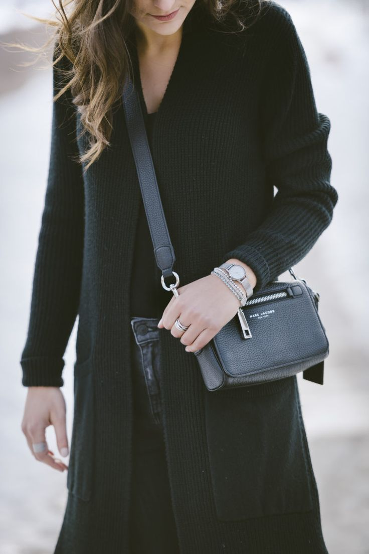 Winter Wardrobe Staple: The Duster Coat. More of this look on www.christinadesantis.com #winterwardrobe #dustercoat #style
