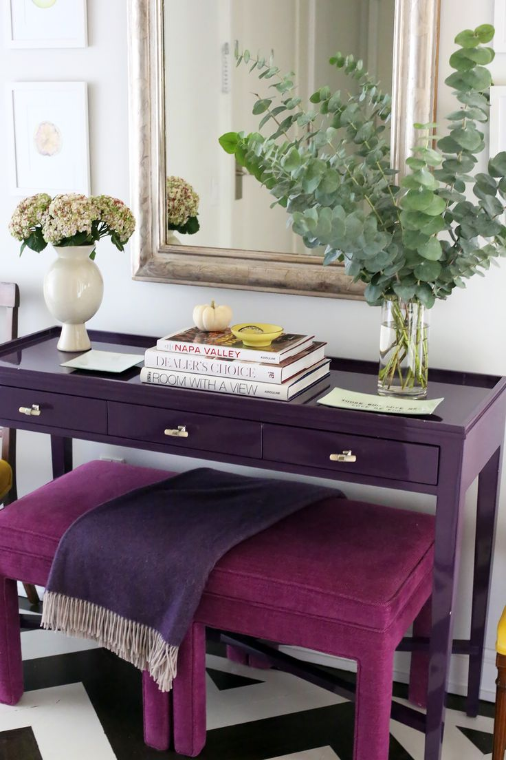 Purple Foyer Paint : Best purple painted furniture images on pinterest