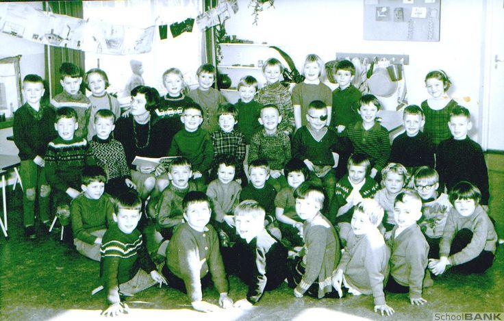 Klassenfoto 39 s kleuterschool dikkertje dap for Interieur 60er jaren