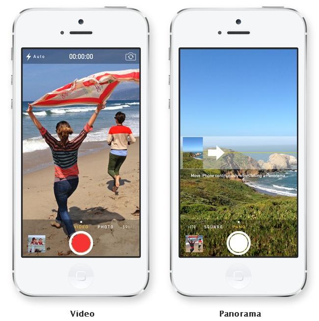 iOS 7 - Camara