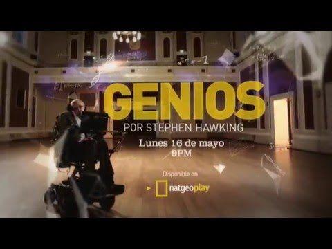 """Genios por Stephen Hawking"", en NatGeo."