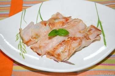 » Rotolini di fesa di tacchino Ricette di Misya - Ricetta Rotolini di fesa di tacchino di Misya