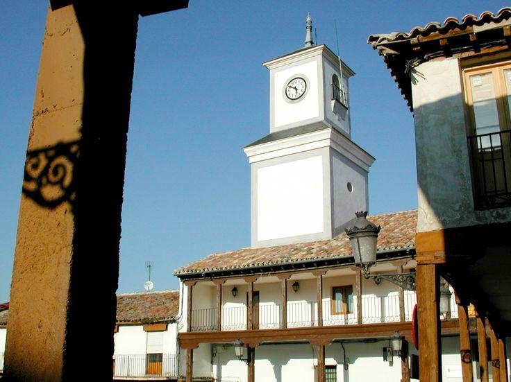 Torre del Reloj. Plaza de la Constitución de Valdemoro. S. XVII