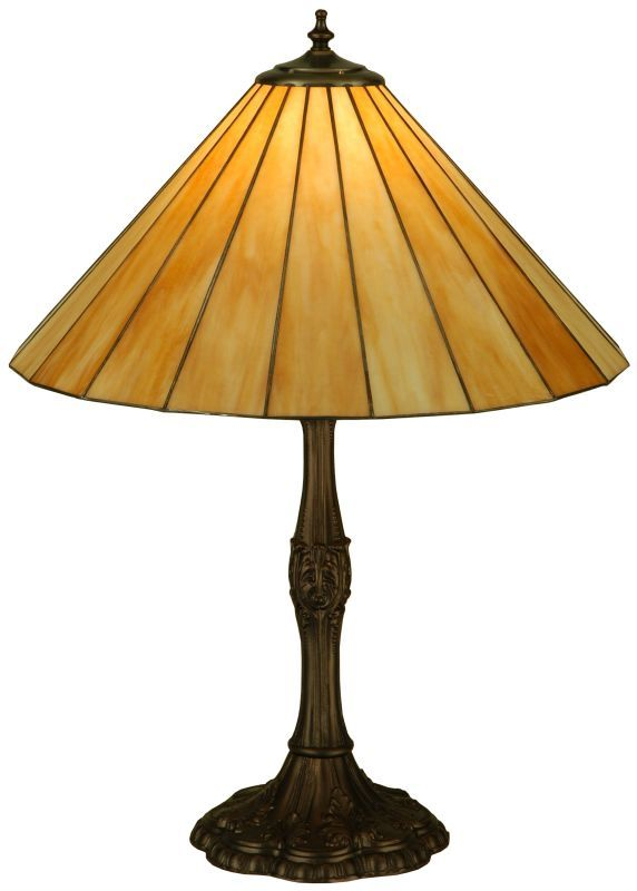 "Meyda Tiffany 137667 26.5"" H Duncan Beige Table Lamp Beige Lamps Table Lamps"