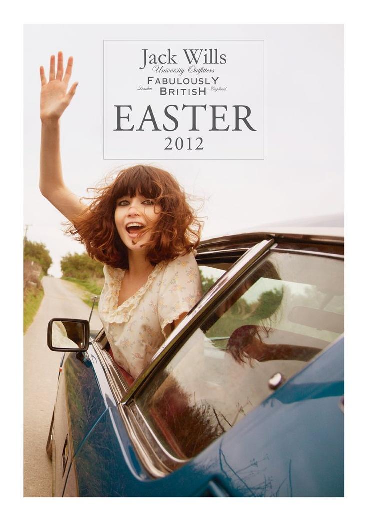 Hey there! The #JackWills Easter Handbook 2012