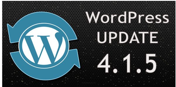 WordPress Update 4.1.5
