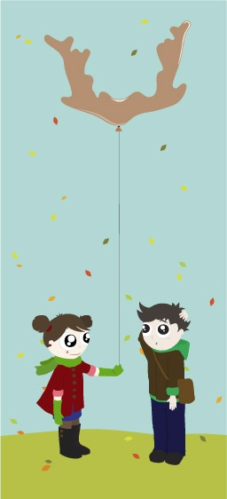 One present in these autumn  days.    via lusym.com