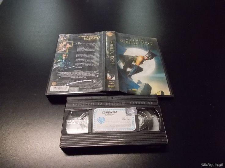 KOBIETA KOT - kaseta VHS - 1149 Opole - AlleOpole.pl (Opole)