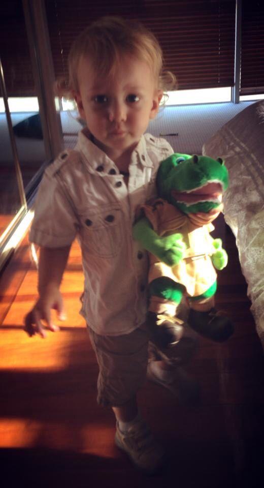 Steve Irwin crocodile hunter toddler costume