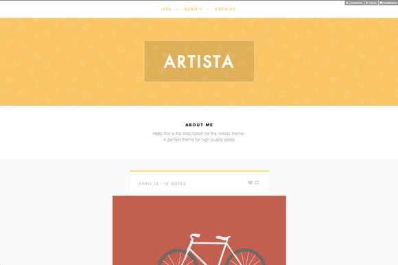 Check out Artista by PaulBorsan on Creative Market
