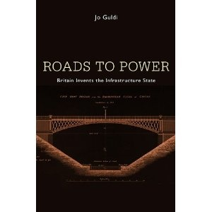 """""""Roads to Power tells the story of how Britain built the first nation connected by infrastructure, how a libertarian revolution destroyed a national economy, and how technology caused strangers to stop speaking.    In early eighteenth-century Britain, nothing but dirt track ran between most towns. By 1848 the primitive roads were transformed into a network of highways connecting every village and island in the nation—and also dividing them in unforeseen ways. The highway network led to…"""