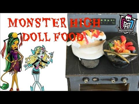 Monster High Doll Food How To Make Your Own Doll Food