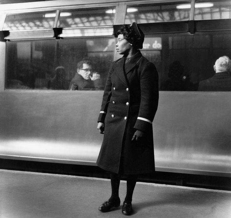"""Earl's Court station 1960 by Jane Bown. From """"a life in photography – in pictures 