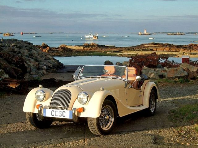Morgan car-  Classic car hire in France   Your French Holidays