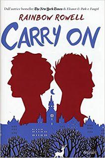 Il Colore dei Libri: Recensione: Carry On di Rainbow Rowell