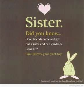 Short Sister Quotes 10 Best Sisters Images On Pinterest  Families Friendship And My Family
