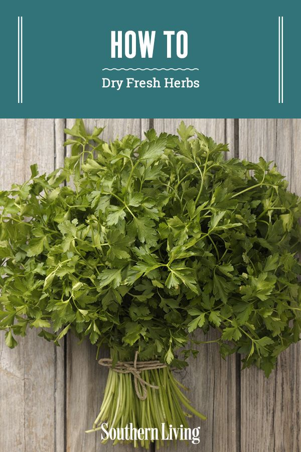 The Best Way To Dry Fresh Herbs In 2020 Herbs Drying Fresh Herbs Fresh Herbs