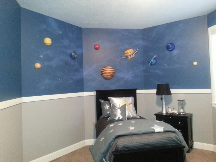 Boys Space Room 13 best outer space room images on pinterest | bedroom ideas, kids