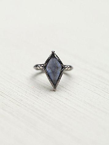 Free People Diamond Night Ring