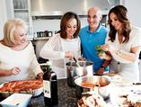 Rosanna Scotto Shares Her Family's Recipes for Italian Comfort Food Recipes for following:    Chicken Parmesan, Eggplant Parmesan, Beef Meatball Parmesan & Polenta Parmesan