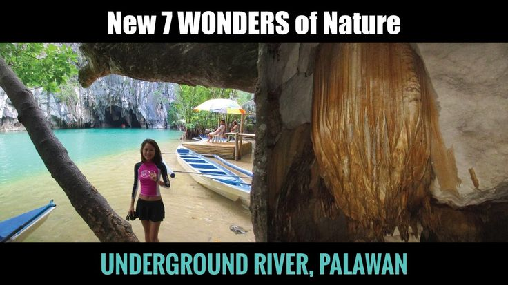 Underground River Palawan Philippines (One of the 7 Wonders of Nature)