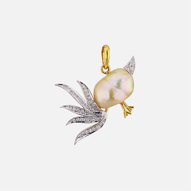 Sri Jagdamba Pearls Astonishing Diamond Pendant