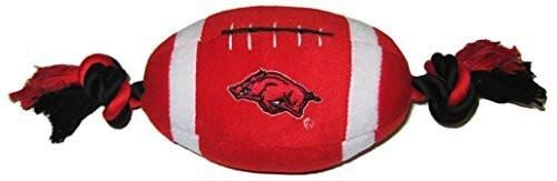 Pets First Collegiate Arkansas Razorbacks Football Pet Plush Toy