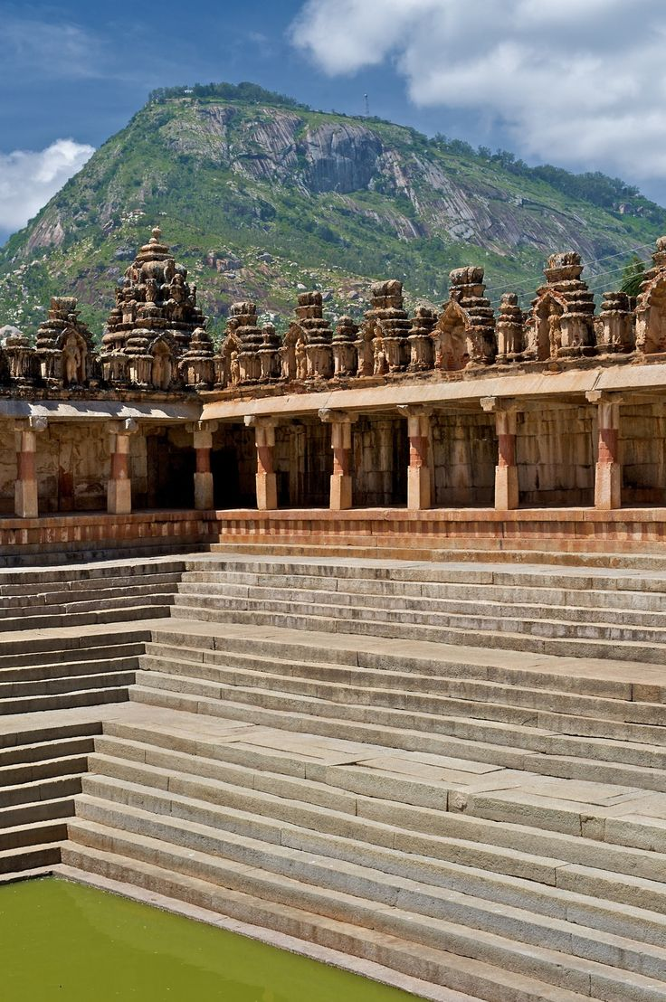 Temple in Nandi Hills, India - photo by Peter Rivera